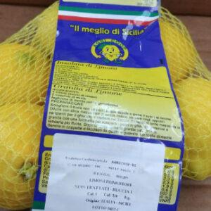 Limone siciliano non trattato