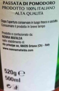 Passata di pomodoro 0,5l Nonna Mafalda 2