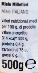 Miele millefiori 2 (0.5kg)