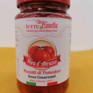 Pezzetti di pomodori pera d'Abruzzo