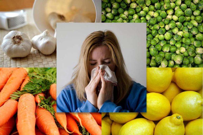 cibi contro raffreddore