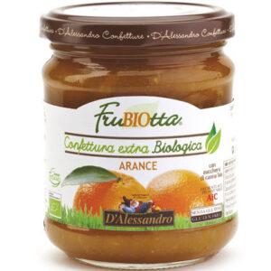 Marmellata di arance 100% BIO D'Alessandro (230g)