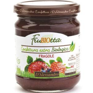 Marmellata di fragole 100% BIO D'Alessandro (230g)