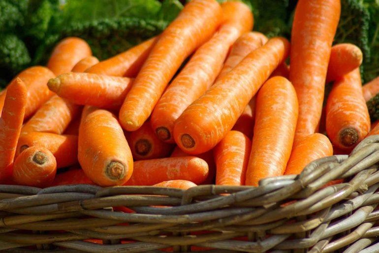 Perché le carote sono arancioni?