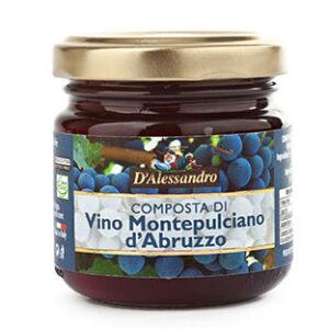 Composta di Montepulciano D'Abruzzo DOC D'Alessandro (110g)