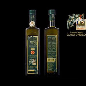 Olio extra vergine d'oliva D.O.P. aprutino pescarese - Frantoio D'Amico (750ml)