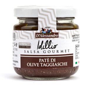 Patè di olive nere taggiasche D'Alessandro (90g)