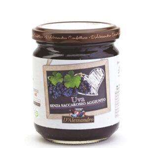 Confettura di uva senza saccarosio aggiunto