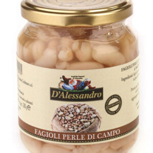 Fagioli perle di campo lessi al naturale D'Alessandro