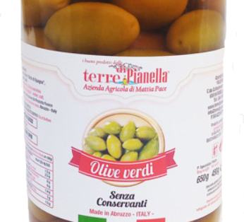 Olive verdi Nonna Mafalda