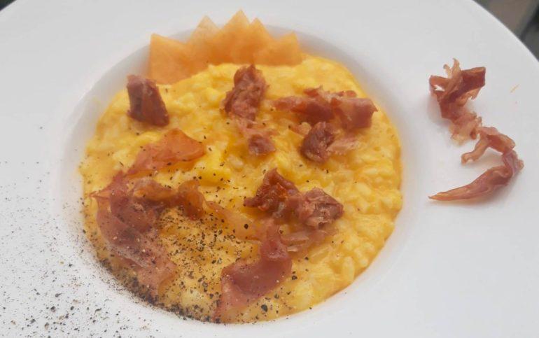 Risotto al melone: una ricetta estiva da leccarsi i baffi 1