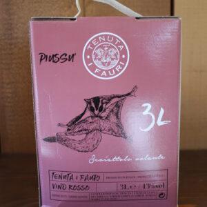 Box: Piussù rosso Tenuta Fauri