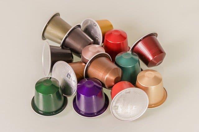 capsule di caffè inquinano